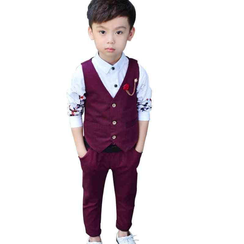 Boys Vest & Pants, Spring / Summer Style Blazer Suits