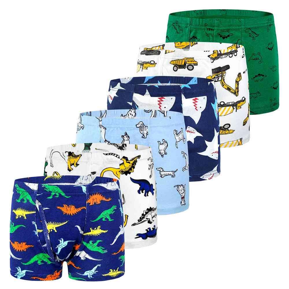 6pcs/lot Underwear-boxer Panties For Kids