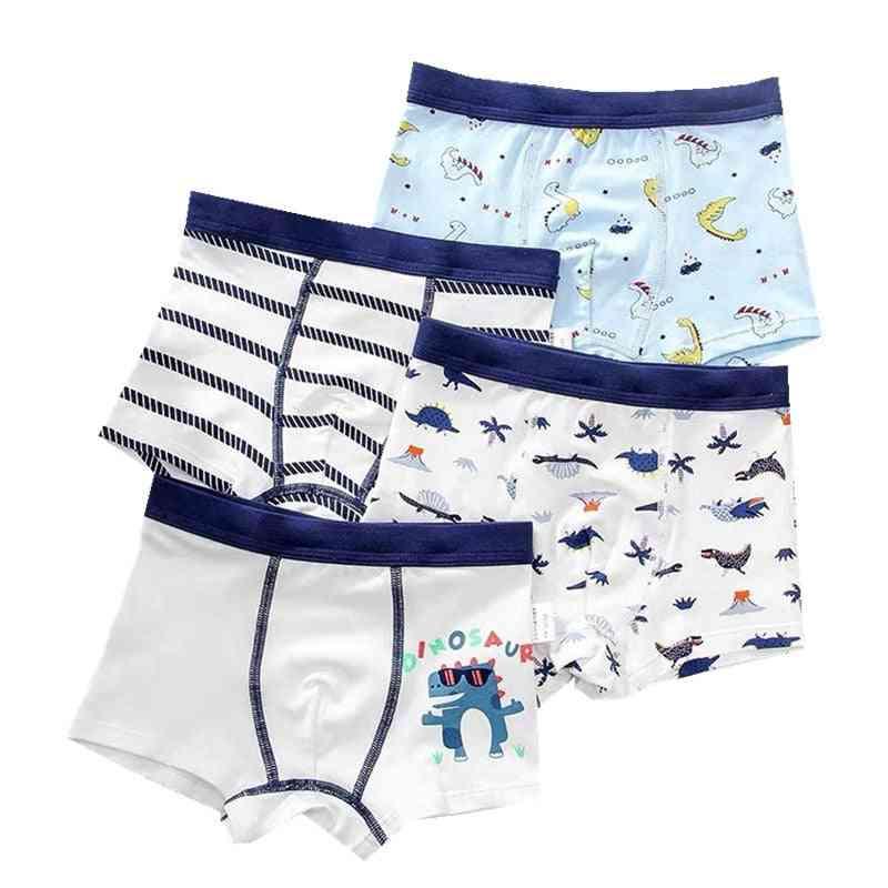 4pcs/lot Cotton Kids Underwear- Boxer For Boy