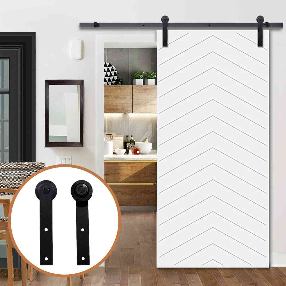 Mounted Hanger Track Steel Closet Door Roller For Single Door