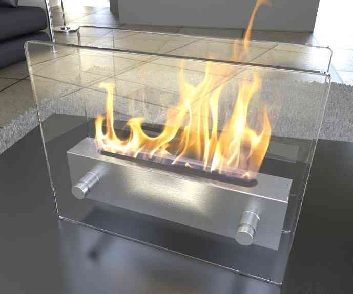 Bioethanol Fireplace Fd47 With Stainless Steel Burner