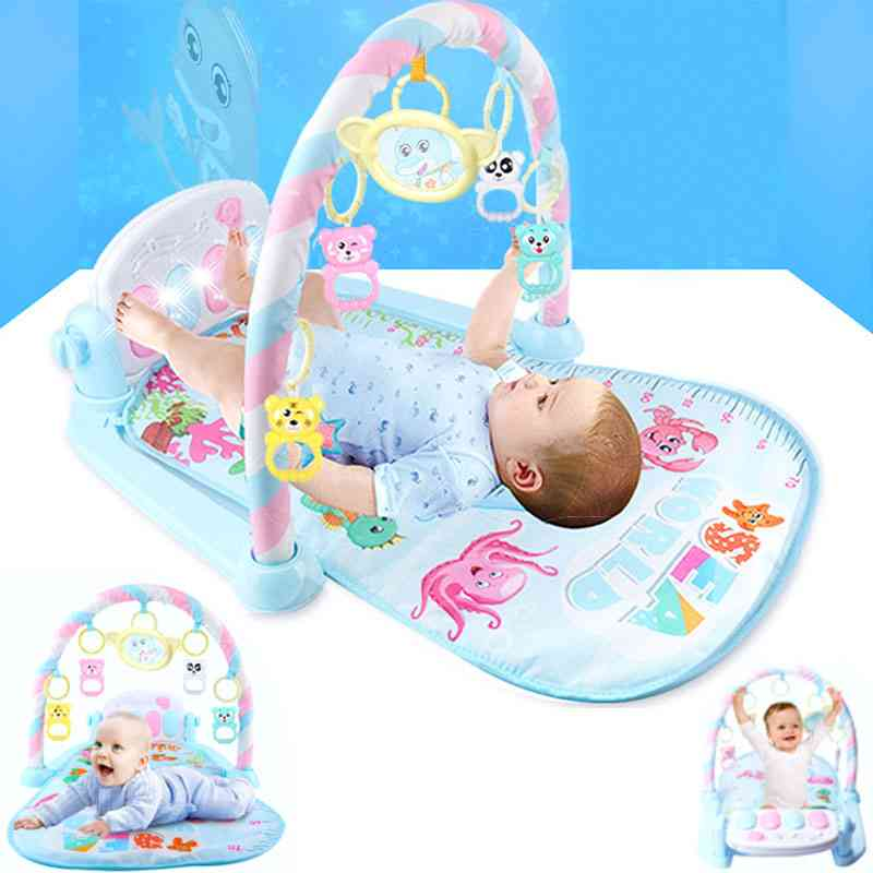 Baby Rocker Music Carpet-fitness Building Frame, Activity Toy