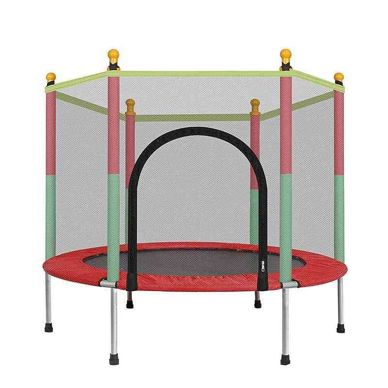 Children Trampoline Jumping Bed, Outdoor Fitness Exercise