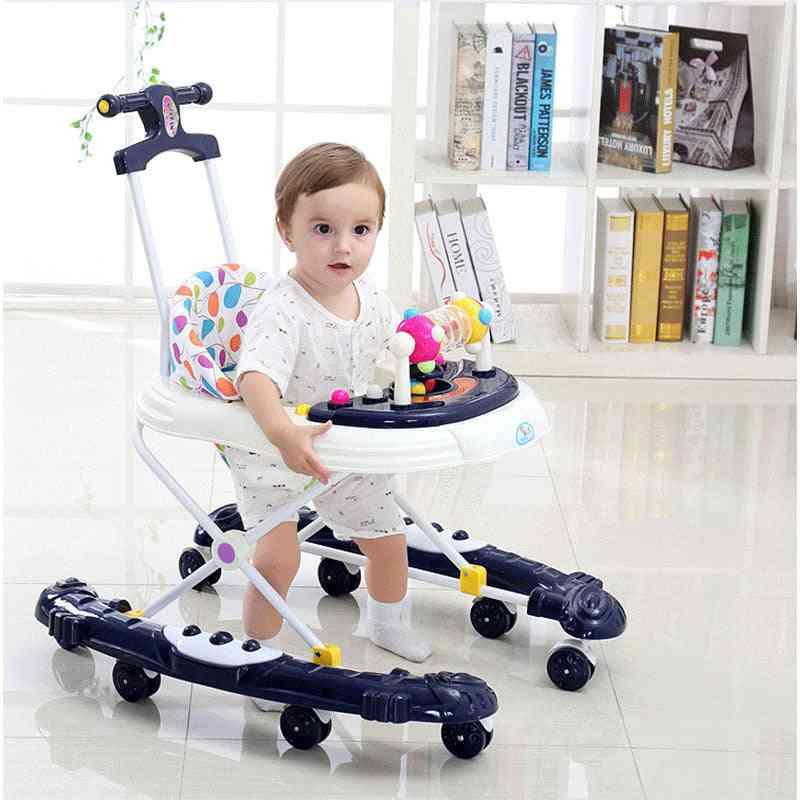 Multi Functional Learning To Walk Leg Rollover Baby Walker