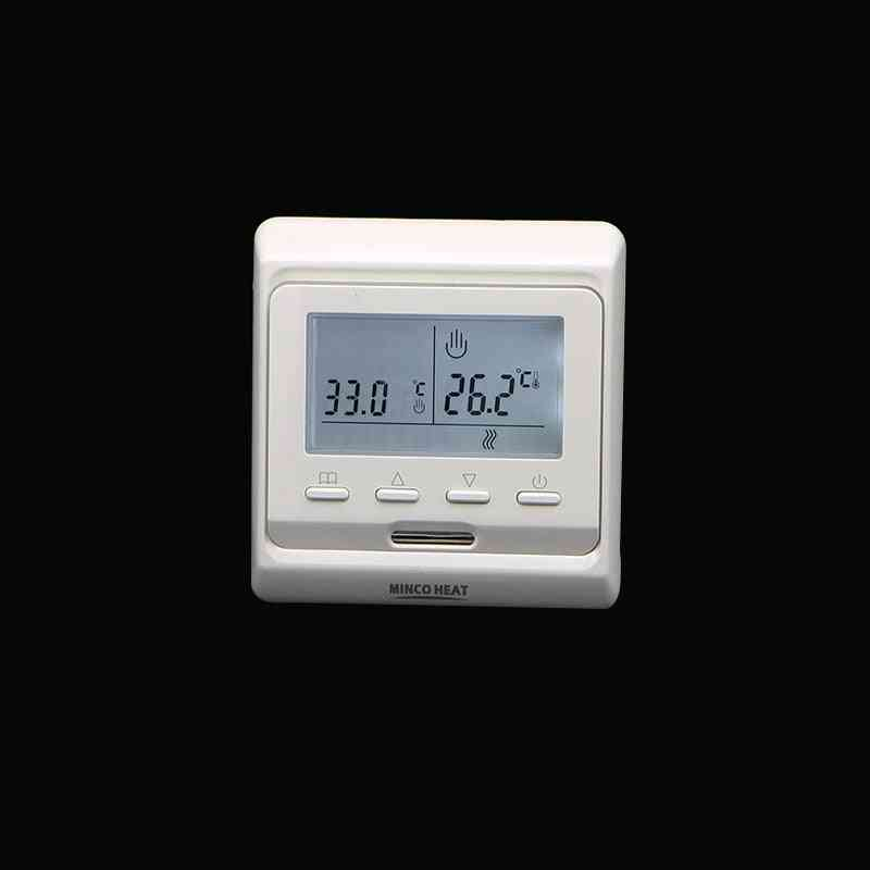 220v Lcd Programmable Electric Digital Floor Heating Air Thermostat