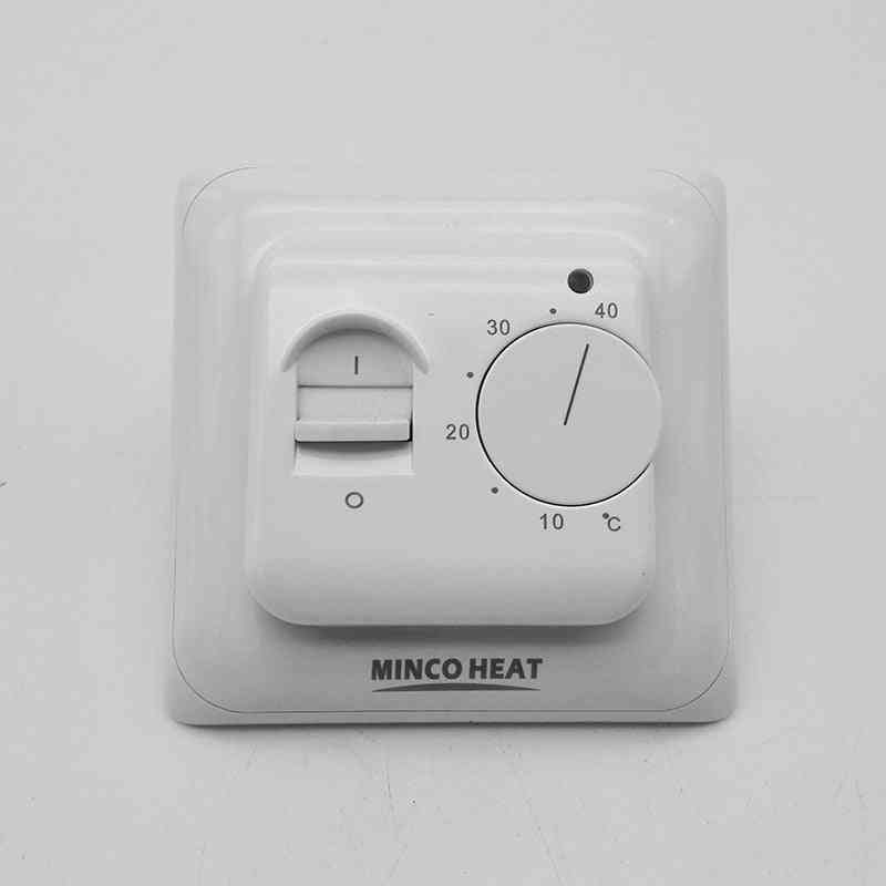 Electric Manual Floor Room Heating Thermostat -warm Temperature Controller Instrument