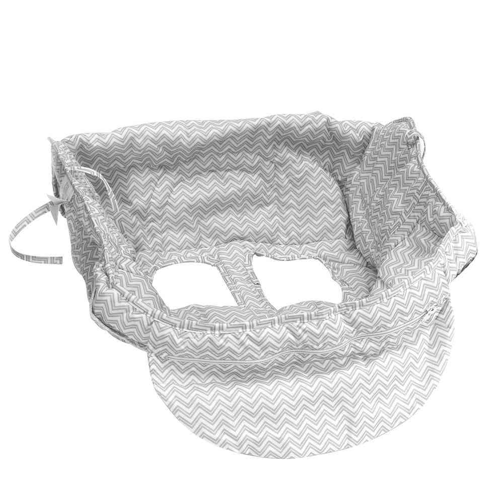 Baby Shopping Cart Seat Cover Protection Trolley, Soft Pad Infant Dining Chair Cushion With Safety Belt
