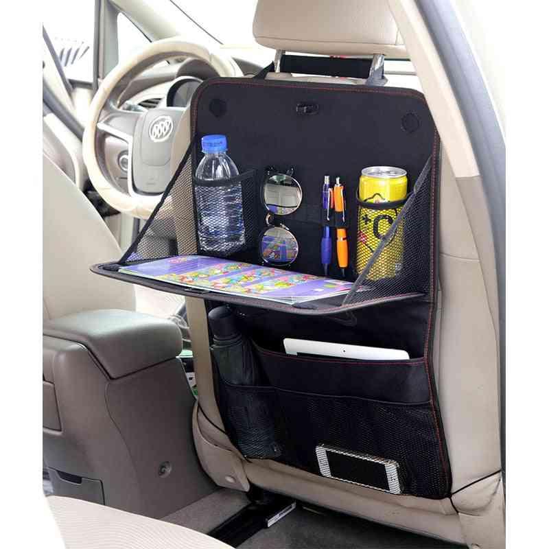 Car Seat Bag, Hanging Back Organizer Protector Storage Box & Shopping Cart