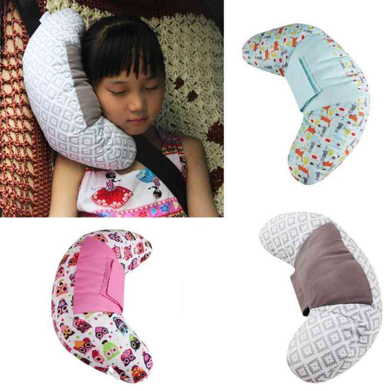 Kids Sleep Safety Strap, Protection Pads - Car Seat Belts Pillow For