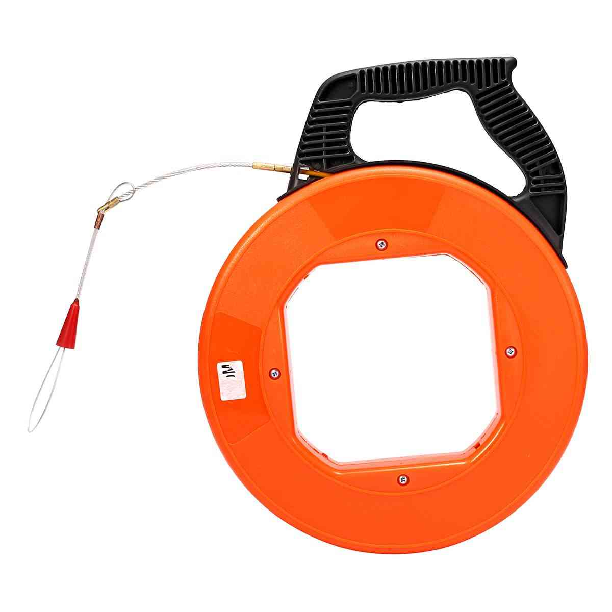 Fiberglass Fish Tape-reel Puller Conduit Rodder, Pulling Wire Cable Kit