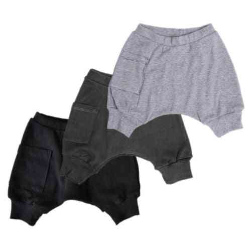 Baby Boy Cotton Bottom Pants, Harem Legging Trousers