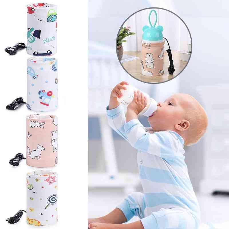Usb Milk Water Warmer, Travel Stroller Insulated Bag
