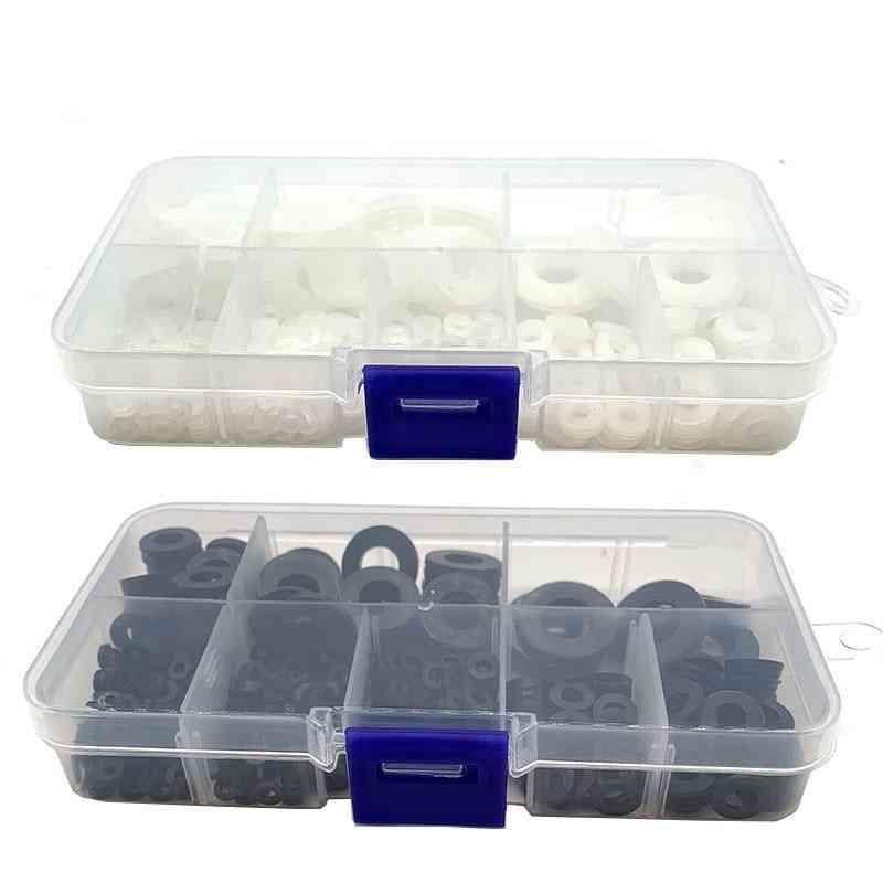 Plastic Nylon Flat Washers-spacer Seals Gasket Ring Kit
