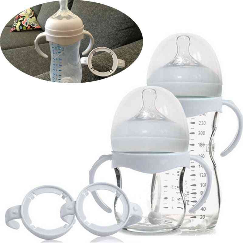 Feeding Bottles Grip Handle, Natural Wide Mouth