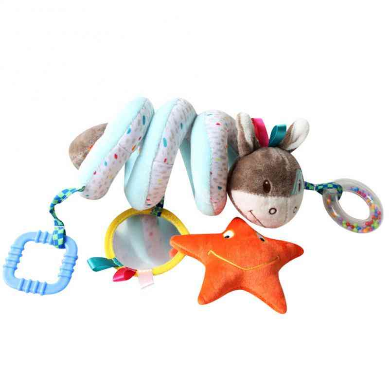 Bed Safety Rails, Animal Soft Rattles & Hanging Bell