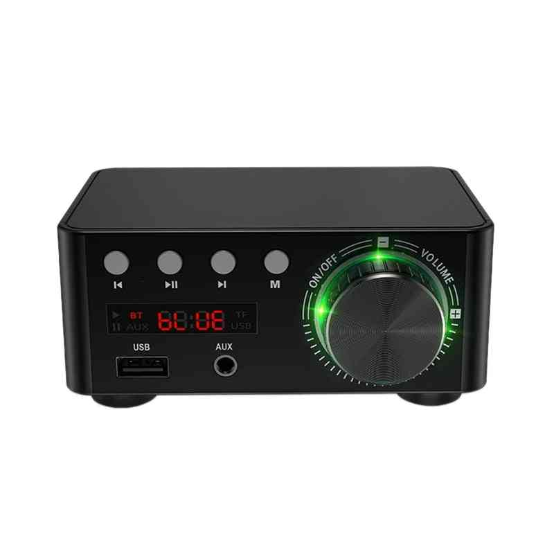Mini Class D Stereo, Bluetooth 5.0 Amplifier For Mobile/computer/laptop