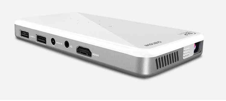 Mini Portable 3d Dlp Projector-android 7.1 Wifi Bluetooth