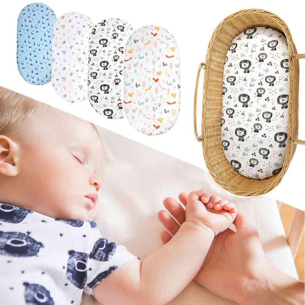 Baby Bassinet Cotton Super Soft Breathable Sleep Cradle Sheets