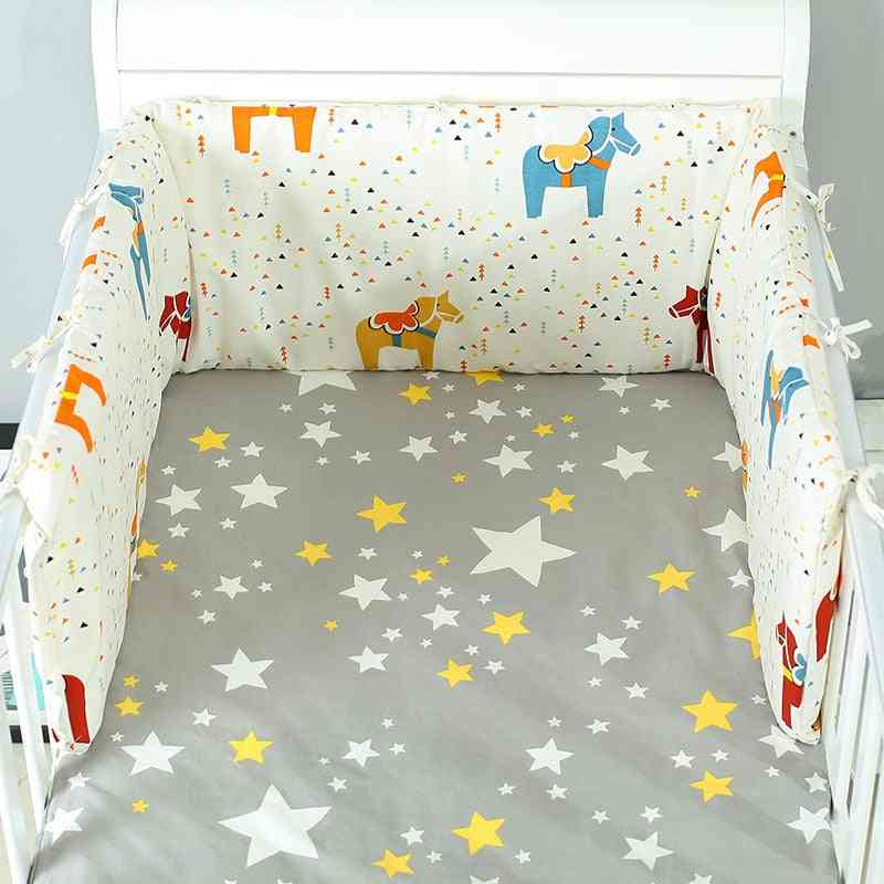 Fold Able Baby Bed/crib Bumper,  U-shaped And Detachable