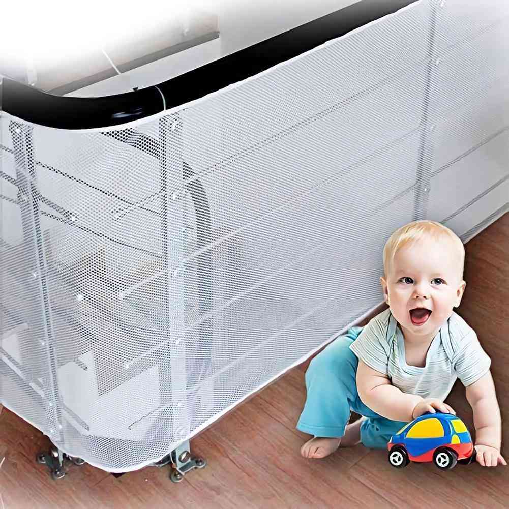 Baby, Kids, Thickened Fence, Mesh Safety Net, - Home, Balcony Stairs Rail Protection, Domestic Easy To Install
