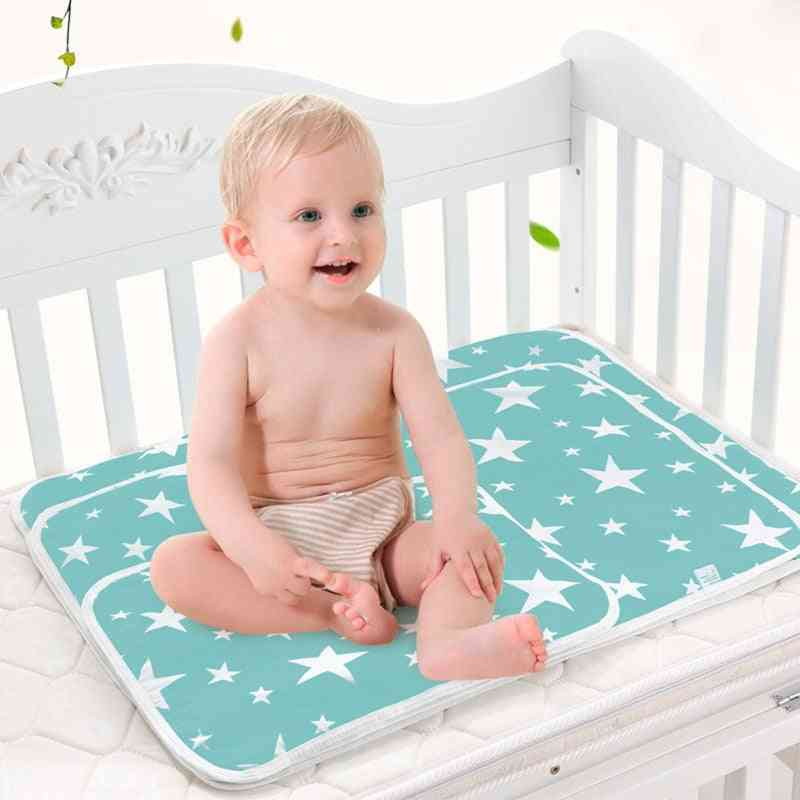 Portable, Foldable, Washable And Waterproof Baby Diaper Changing Floor Mats