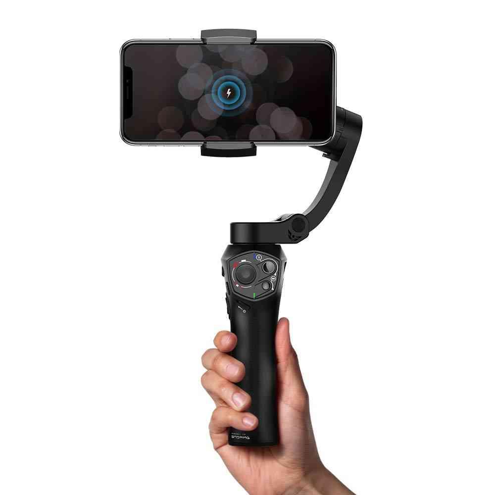 Foldable Pocket Sized 3 Axis- Smartphone Handheld Gimbal Stabilizer