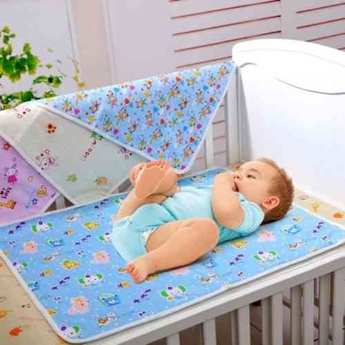 Washable Diaper Changing And Urine Protector Mat -fit For Baby Strollers