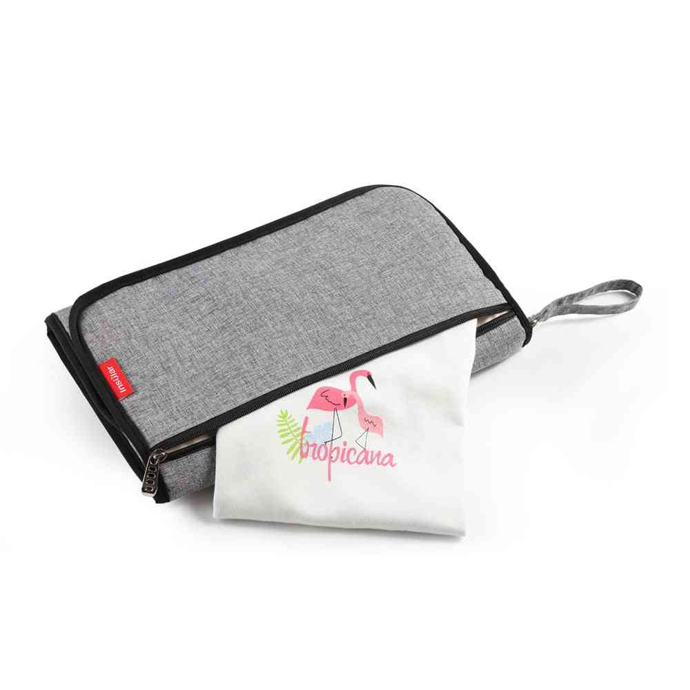 Portable Baby Diaper Changing Mat-3 Layer Structure