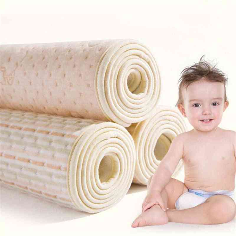 Organic Waterproof Cotton/eva Layered Baby Changing Mat/sheets