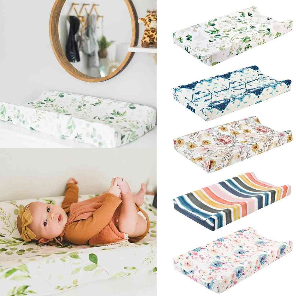 Washable And Reusable Baby Diaper Changing Pad Cover