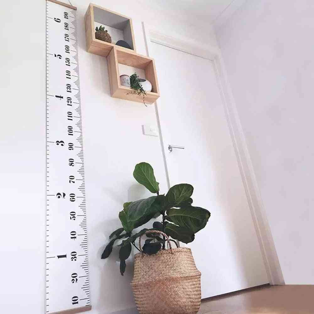 Wall Hanging-baby Height Measure Ruler Sticker
