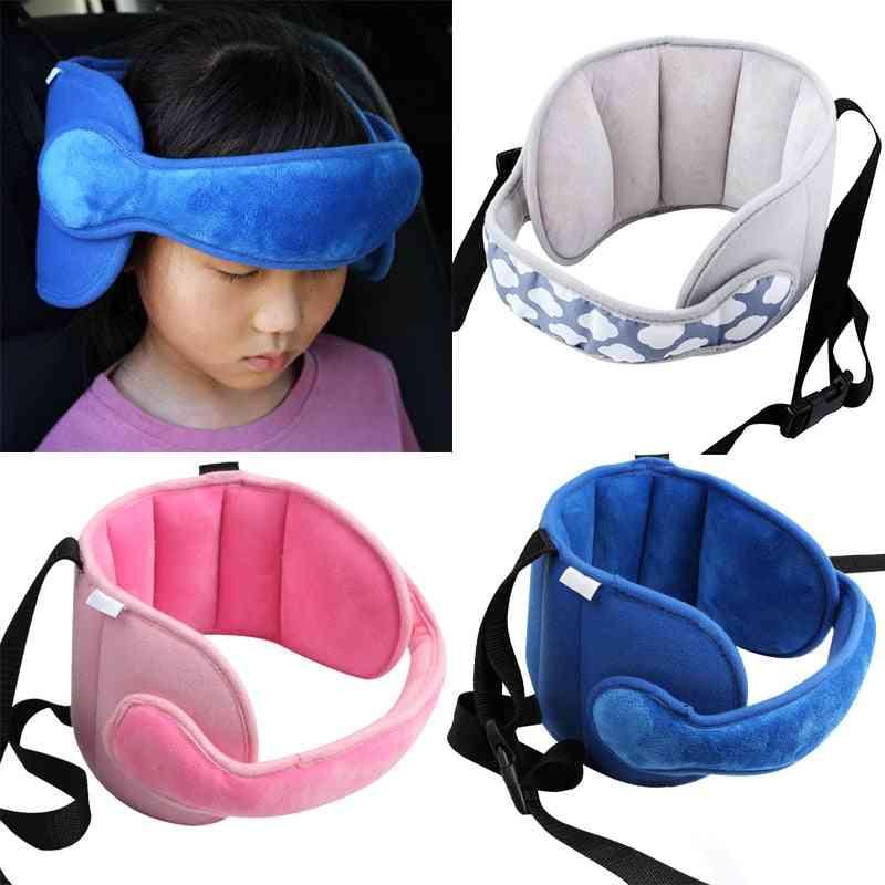 Adjustable Car Seat Head Support Sleeping Belt