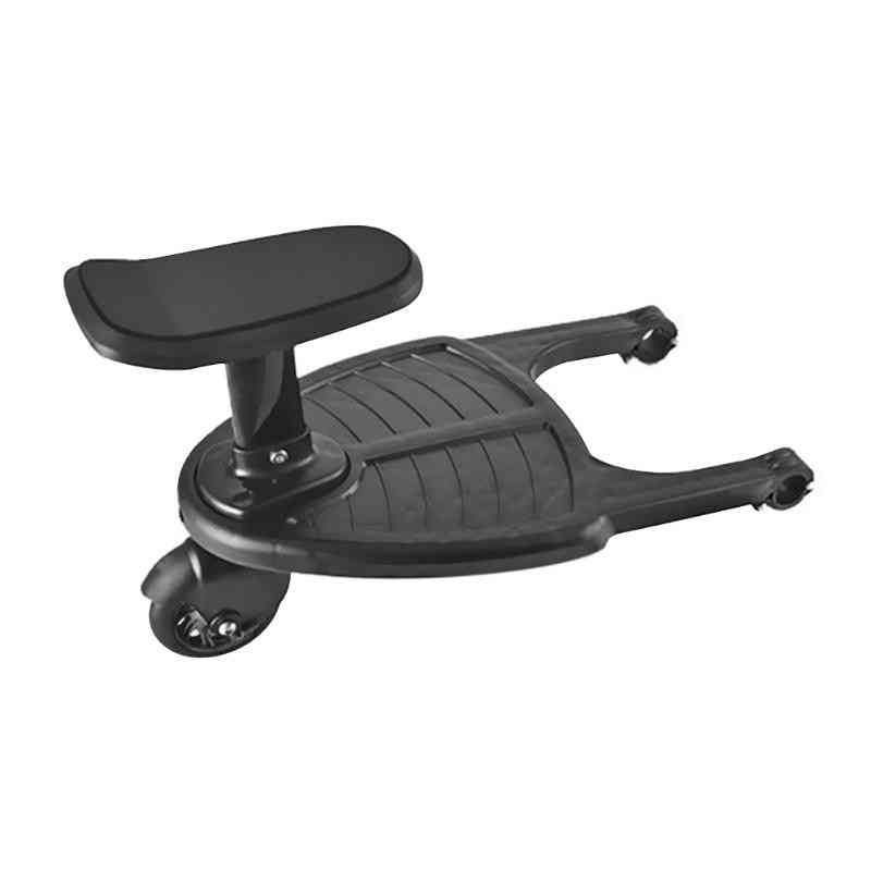Children Stroller Pedal Adapter, Installation And Disassemble Conveniently Second Child Hitchhiker Trailer With Seat