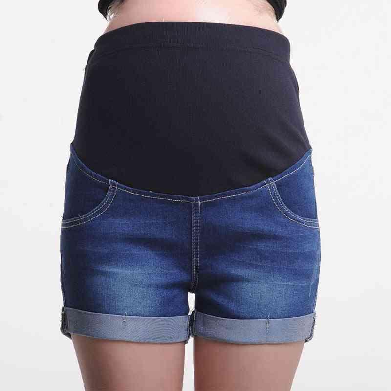 Summer Maternity Short- Pregnant Denim Jeans