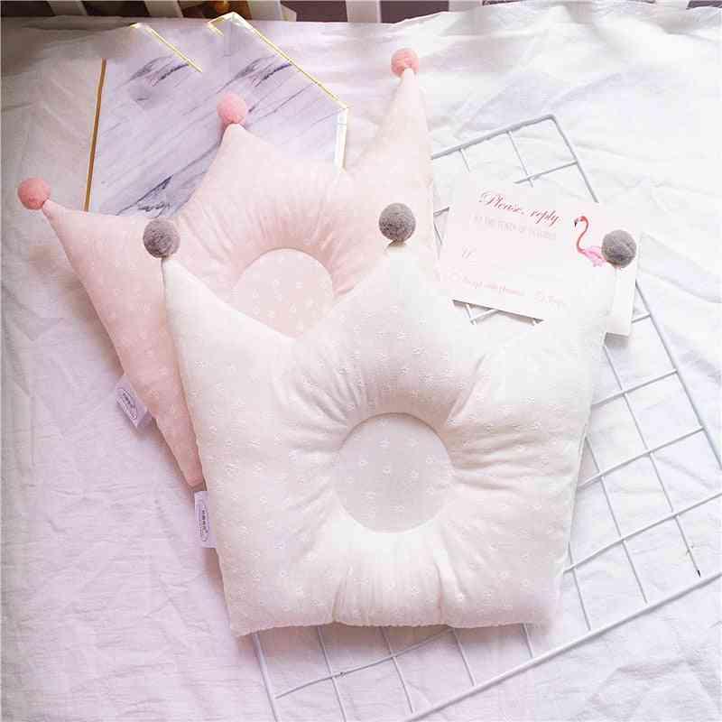 Flat Head Prevent Crown Shaped Neck Pillow