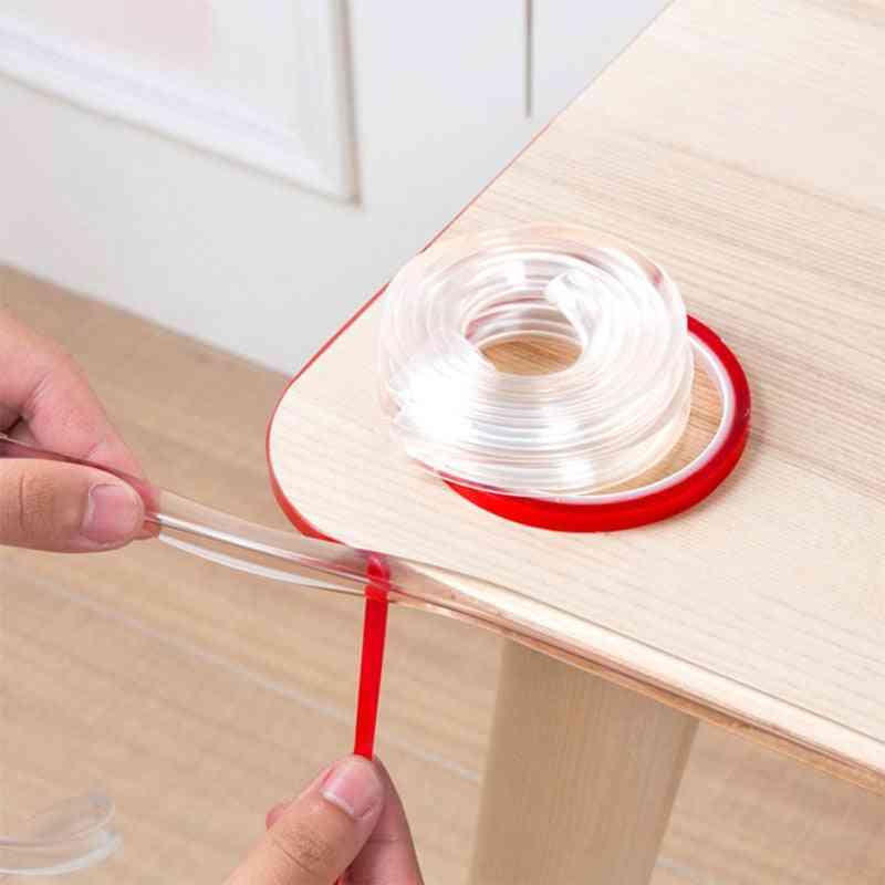 Transparent Table Corner Protectors- Soft Pvc Bumper