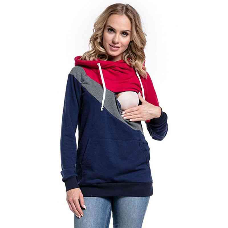 Maternity Clothes- Fashion Multi Functional Mother Breastfeeding Hoodies