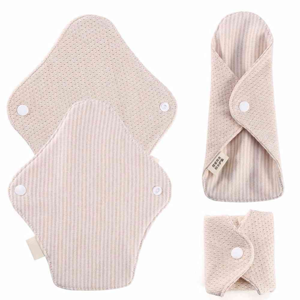 Menstrual Pads Re-useable, Women Feminine Sanitary Napkin