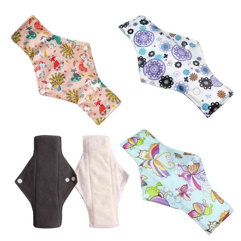 Waterproof Large Heavy Flow, Natural Comfortable Cute Washable Pads