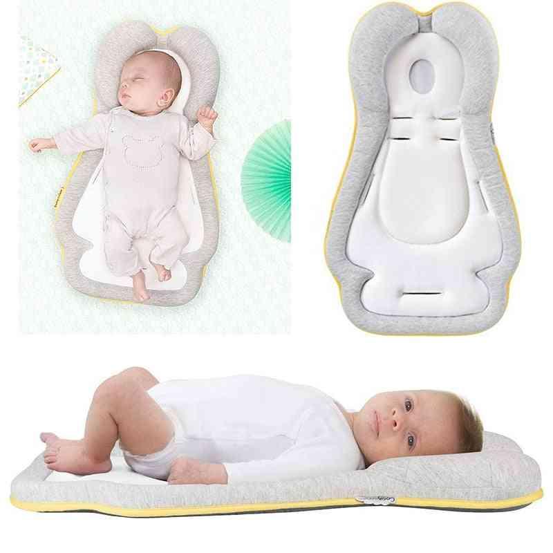 Baby Crib Bed Nest Newborn Stereotypes Pillow