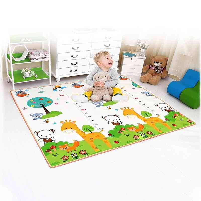 Thick Crawling Mat Infants Puzzles -cute Game Pad