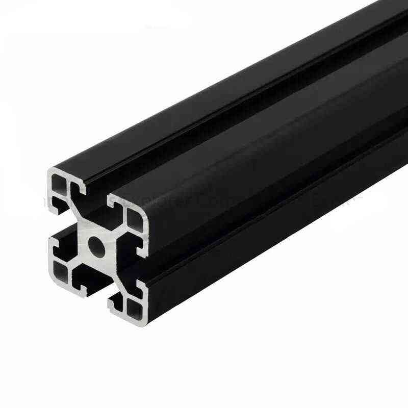 1000mm Arbitrary Cutting Black Aluminum Extrusion