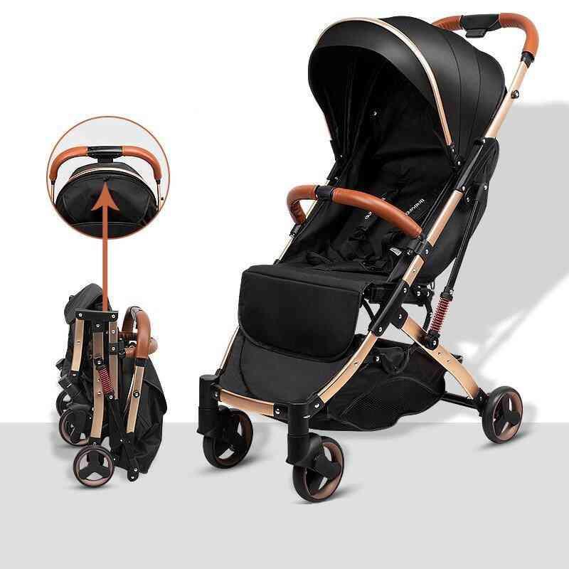 Light Stroller, Portable Carriage Umbrella Travelling Pram