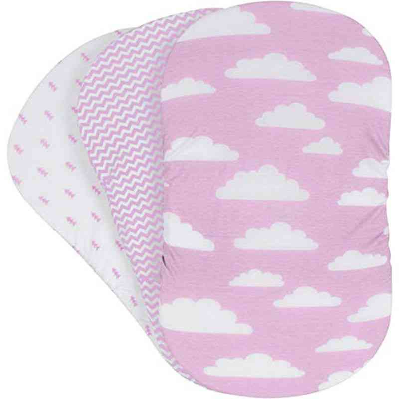 Soft Baby Bassinet Set, Cradle Fitted Sheets/mattress