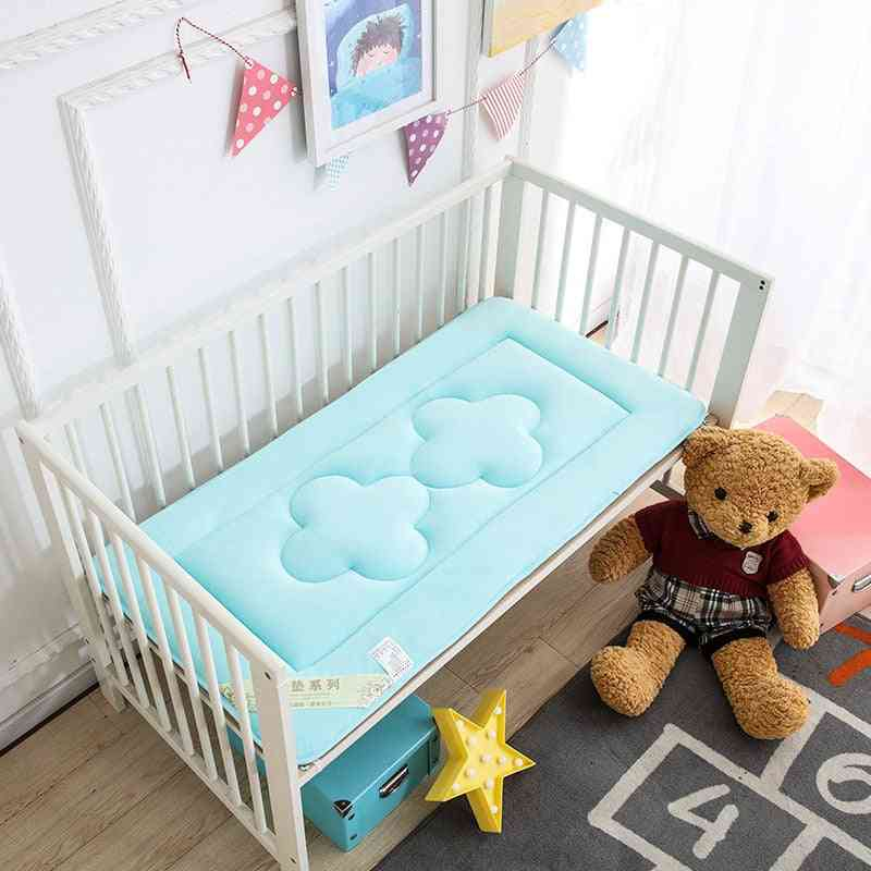 Soft Breathable Baby Bed Mattress, Newborn Crib Sleeper Pad Creeper Mat Cot Stroller Bedding Carpet