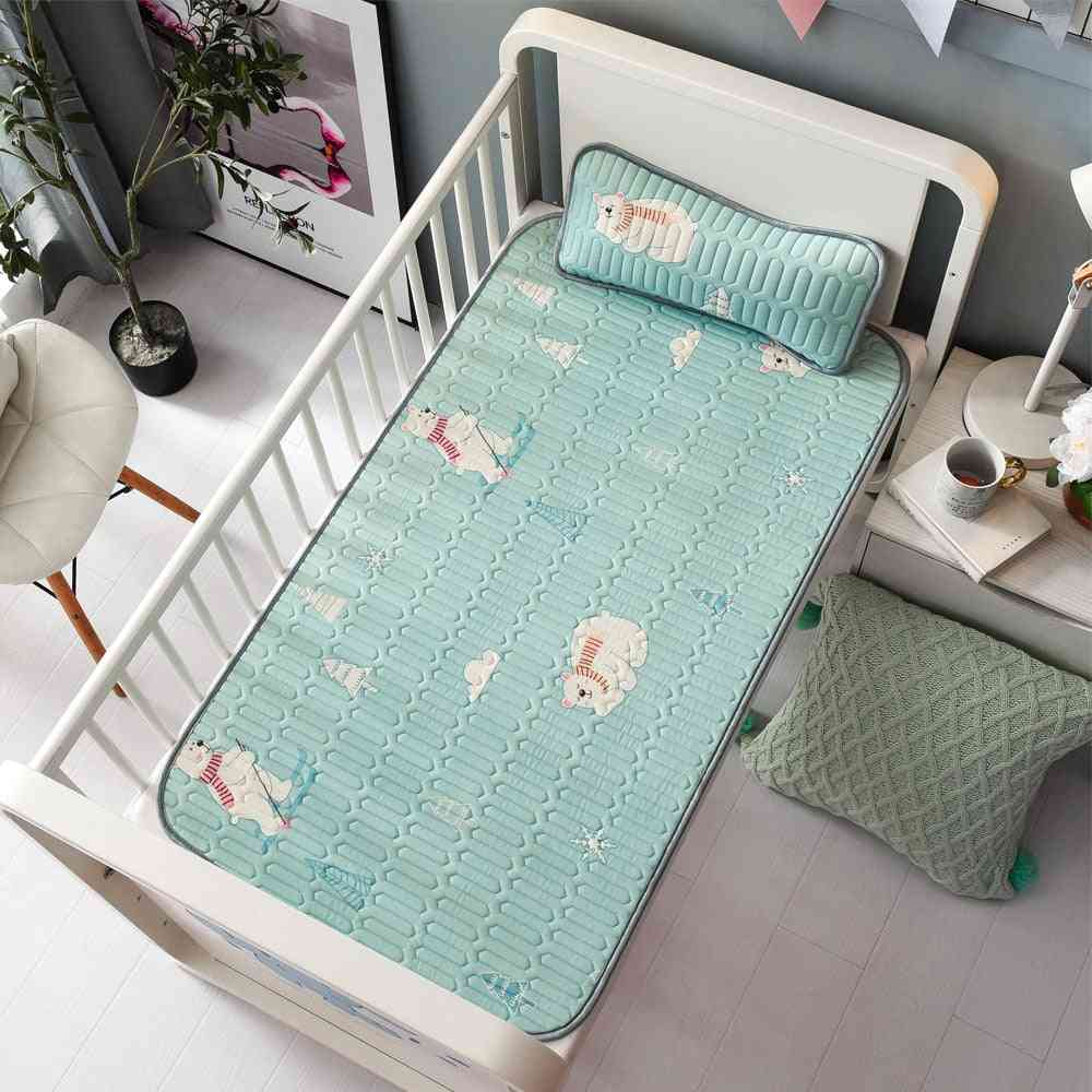 Baby Summer Sleeping Cool Bed Mat With Pillow