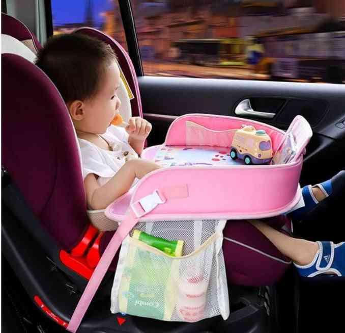 Portable Table For Car -kids Stroller, Holder