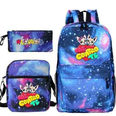 Boys And Girls Cartoon Bag Waterproof Backpack