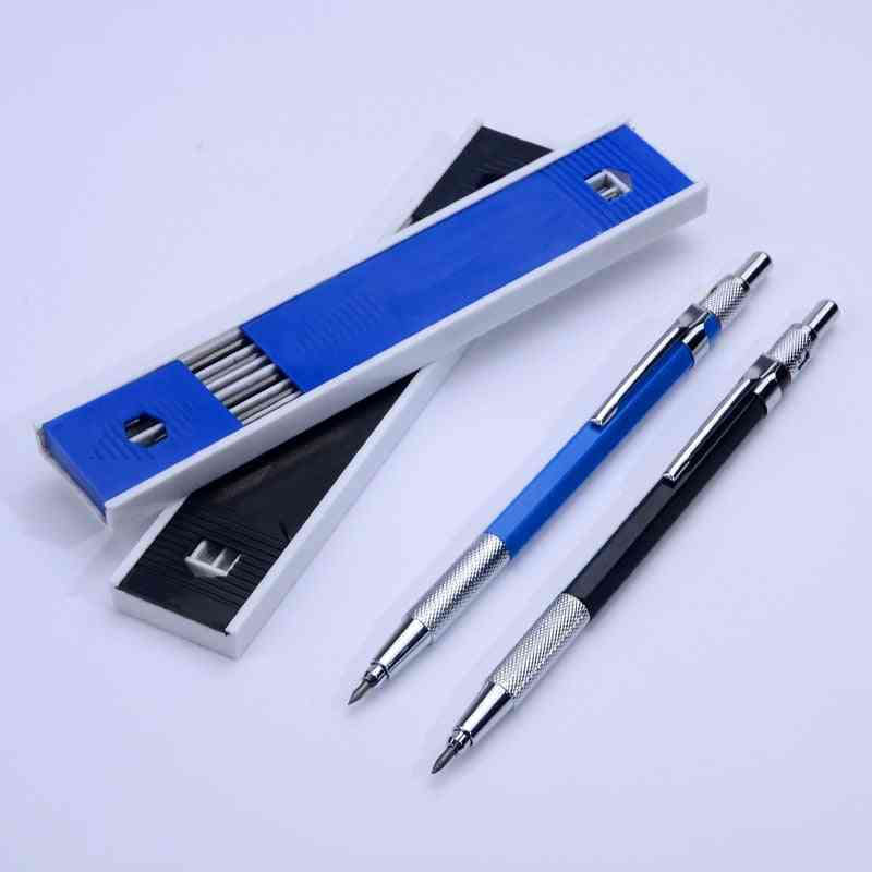 2.0 Mm, 2b Lead Holder And Metal Pencil For Drafting/drawing