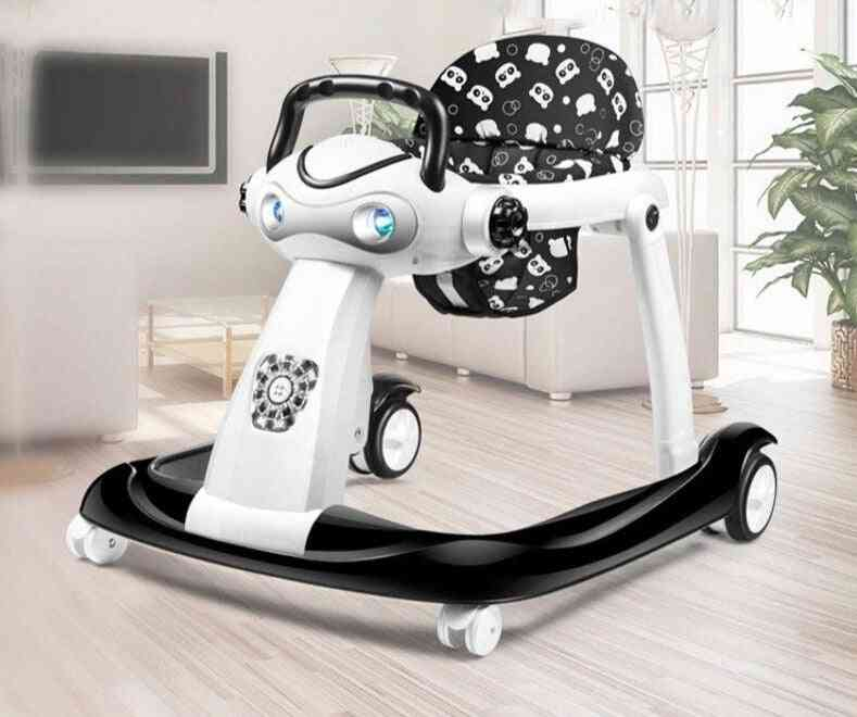 Baby Walker, Prevents O-legs Multi-function, Anti-rollover Stroller Toy